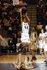College basketball athletes playing without anxiety